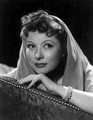 Greer Garson, 1939, Photo By Clarence Print by Everett