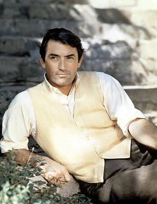 Gregory Peck, Ca. Late 1950s Art Print by Everett