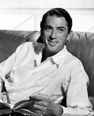 Gregory Peck In The Late 1940s Art Print by Everett