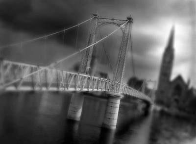 Photograph - Greig Street Bridge by Joe Macrae
