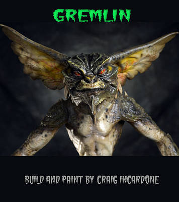 Gremlin Close Up Original by Craig Incardone
