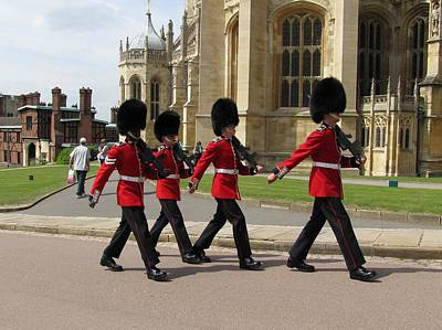 Photograph - Grenadier Guards by Keith Stokes