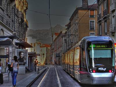 Transportion Photograph - Grenoble by Rod Jones