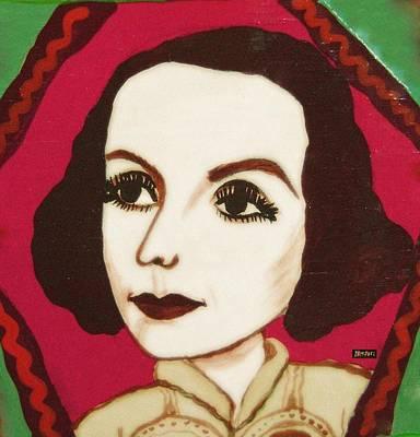 Greta Garbo Painting - Greta Garbo by Ana Dragan