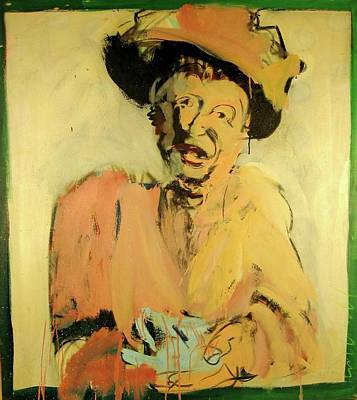 Art Print featuring the painting Gretchen Colnik by Les Leffingwell