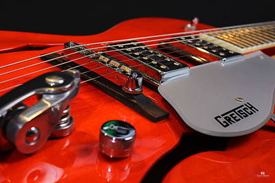 Gretsch Photograph - Gretsch Guitar Volume Control by Russ Harris