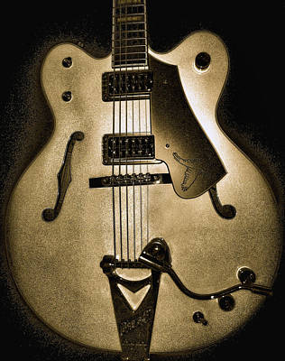 Guitar Photograph - Gretsch by Lourry Legarde