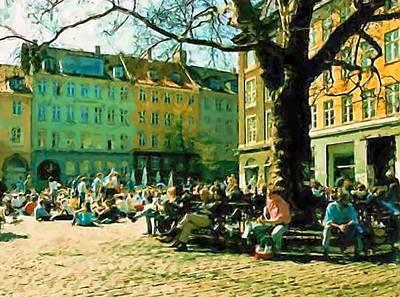 Grey Brothers Square I Art Print by Asbjorn Lonvig