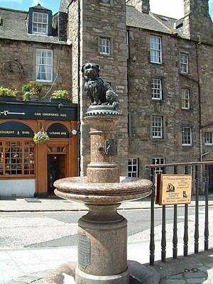 Photograph - Greyfriars Bobby by Richard James Digance