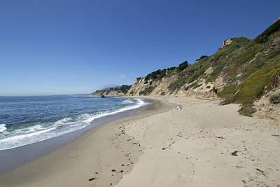 Greyhound Rock State Beach Panorama - Santa Cruz - California Art Print by Brendan Reals