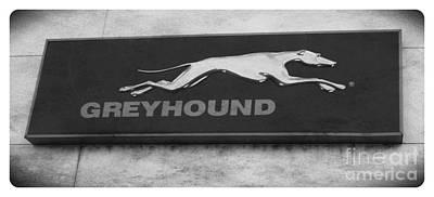 Photograph - Greyhound Sign by J Kinion