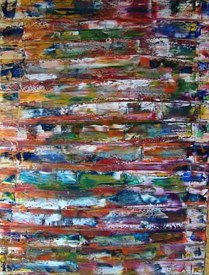 Painting - Gri Xix by Gunter  Tanzerel