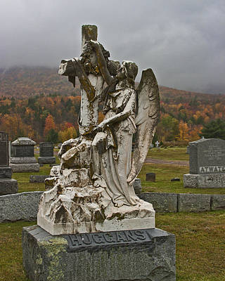 Photograph - Grieving Angel by Gregory Scott