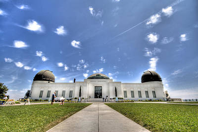 Griffith Observatory 2 Original by Jessica Velasco