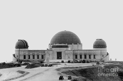Griffith Observatory, Los Angeles Print by Science Source