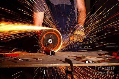 Photograph - Grinder In Action by Gualtiero Boffi