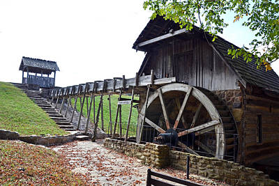 Terre Haute Indiana Photograph - Grist Mill 1 by Franklin Conour