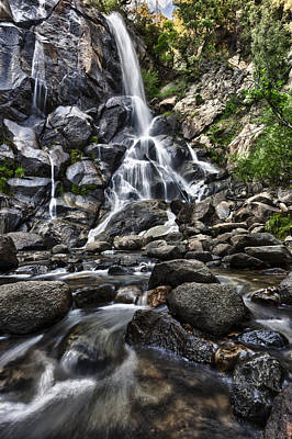 Photograph - Grizzly Falls by A A