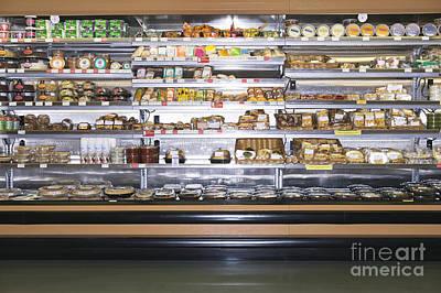 Grocery Store Display Art Print
