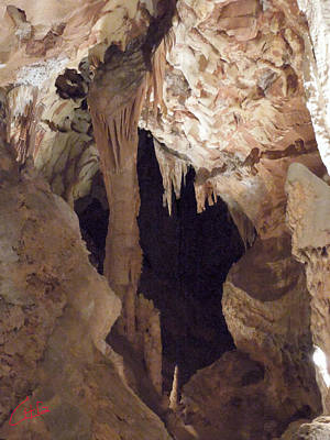 Grotte Magdaleine Region Ardeche France Print by Colette V Hera  Guggenheim