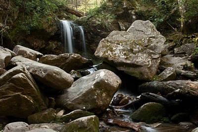 Photograph - Grotto Falls Great Smoky Mountains National Park by Benjamin Dahl