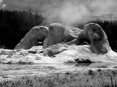 Hydrothermal Photograph - Grotto Geyser by Steven Ainsworth