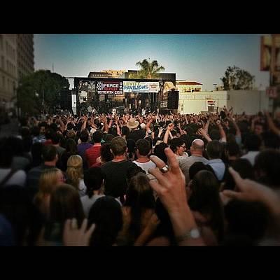Band Photograph - Grouplove Performing At The Pasadena by Loghan Call