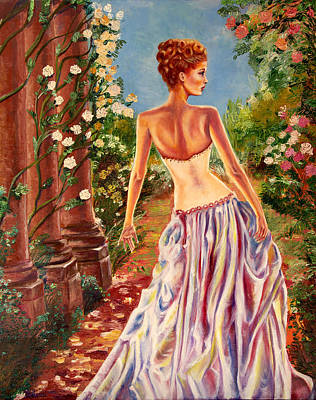 Painting - Grove Pinup by Yelena Rubin