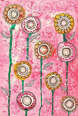 Grow Art Print by Zoe Ford