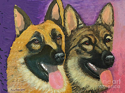 Gsds Gretchy Rorie Art Print