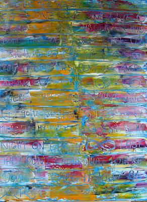Painting - Gtac II by Gunter  Tanzerel