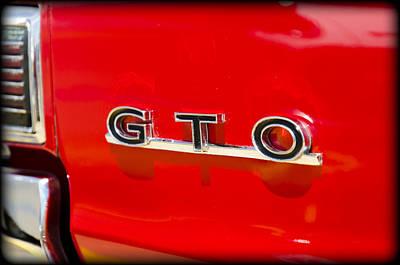 Car Photograph - GTO by Ricky Barnard