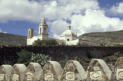 Photograph - Guadalupe Church In Real De Catorce Mexico by John  Mitchell