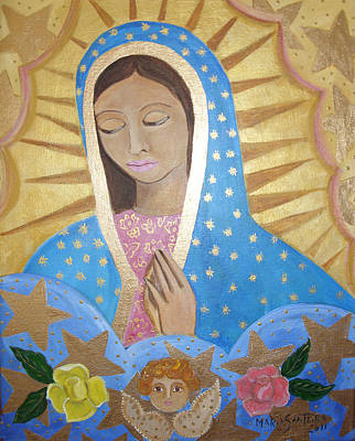 Painting - Guadalupe by Maria Matheus Maria Santeira