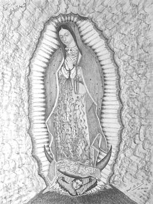Guadalupe Art Print by Miguel Rodriguez