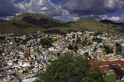 Guanajuato Vista No. 1 Art Print by Lynn Palmer