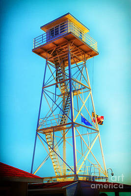 Photograph - Guard Tower by Thanh Tran