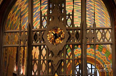 Photograph - Guardian Building Detroit Michigan Art Deco by Ronald Grogan