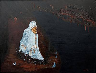 Wall Art - Painting - Guardian Of The Dark by Carl Taylor