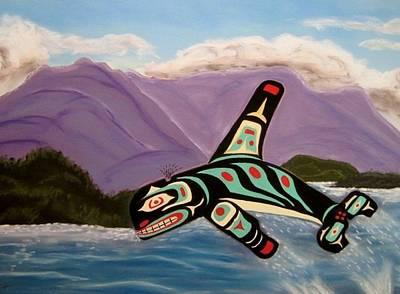 Guardian Of The Oceans Art Print by Judi Schultze