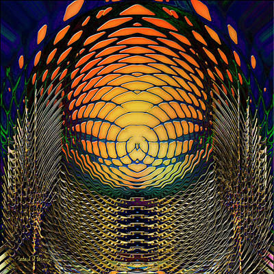 Digital Art - Guardians Of The Light Within by Barbara Berney