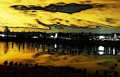 Wall Art - Digital Art - Autrey Reservoir by Bill Kennedy
