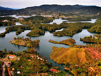 Guatape Photograph - Guatape by Skip Hunt