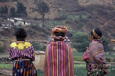 Winter Animals - Guatemala Maya Women by John  Mitchell