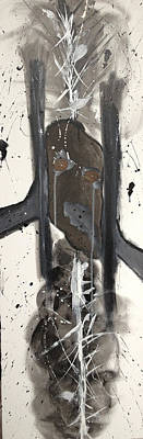 Mixed Media - Guerin's Fracture by Morgan