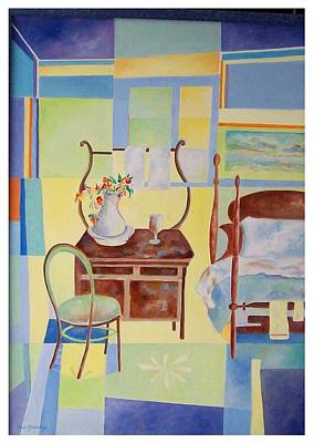 Painting - Guest Room  by Sue Prideaux