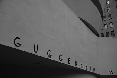 Photograph - Guggenheim M by Eric Tressler