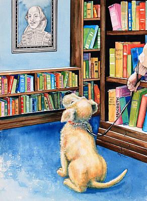 Guide Dog Training Art Print