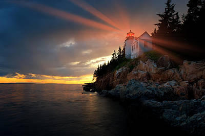 Photograph - Guiding Light by Bernard Chen