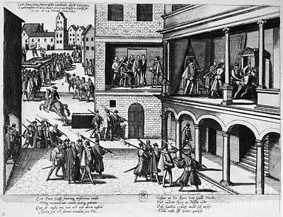 Guise Photograph - Guise Assassinations, 1588 by Granger